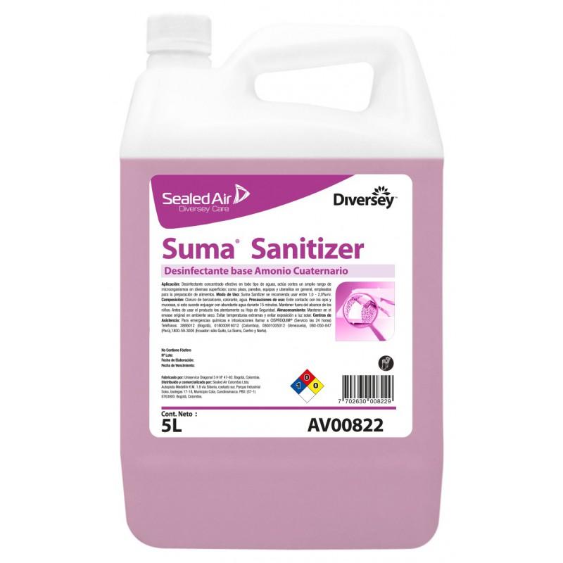 Desinfectante Líquido Suma Sanitizer x 5L AV00822
