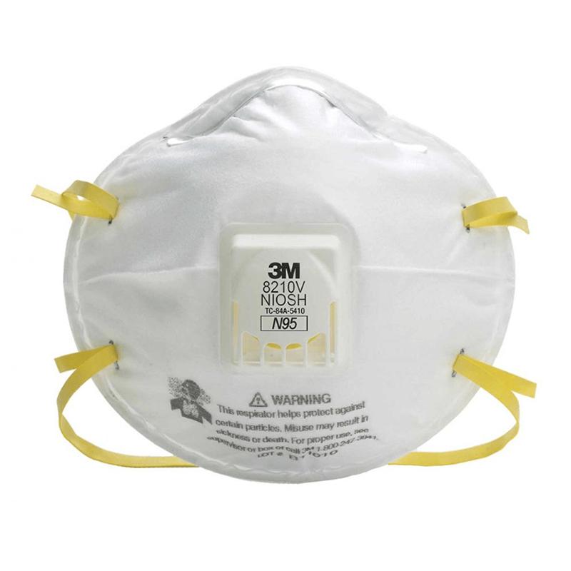 Respirador 3m 8210v Material Particulado (Con Valvula) N95