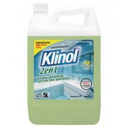 Limpiador Desinfectante Klinol 2 en 1 x 5Lts