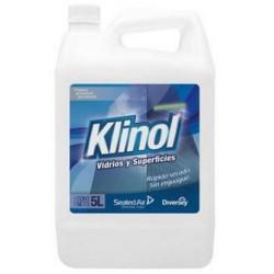 Limpiavidrios Klinol Vidrios y Superficies x 5Lts (LEM)