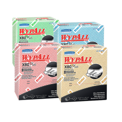 Wypall x 80 plus x 30 Paños   con power pockets (33,5 x 35,5 cm)