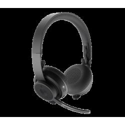 DIADEMA ZONE  Logitech Corporativo Wireles - Bluetooth USB Compatible Win-Mac NEGRO