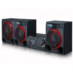 Minicomponente 1100W, Karaoke, Wireless, Multi Bluetooth, Multi Jukebox, CD, 2USB, FM