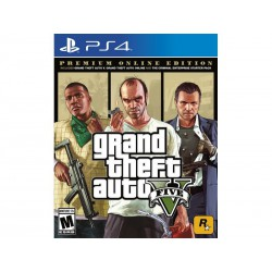 Video Juego para Play Station 4 PS4 Grand Theft Auto V Premium Edition 710425570322