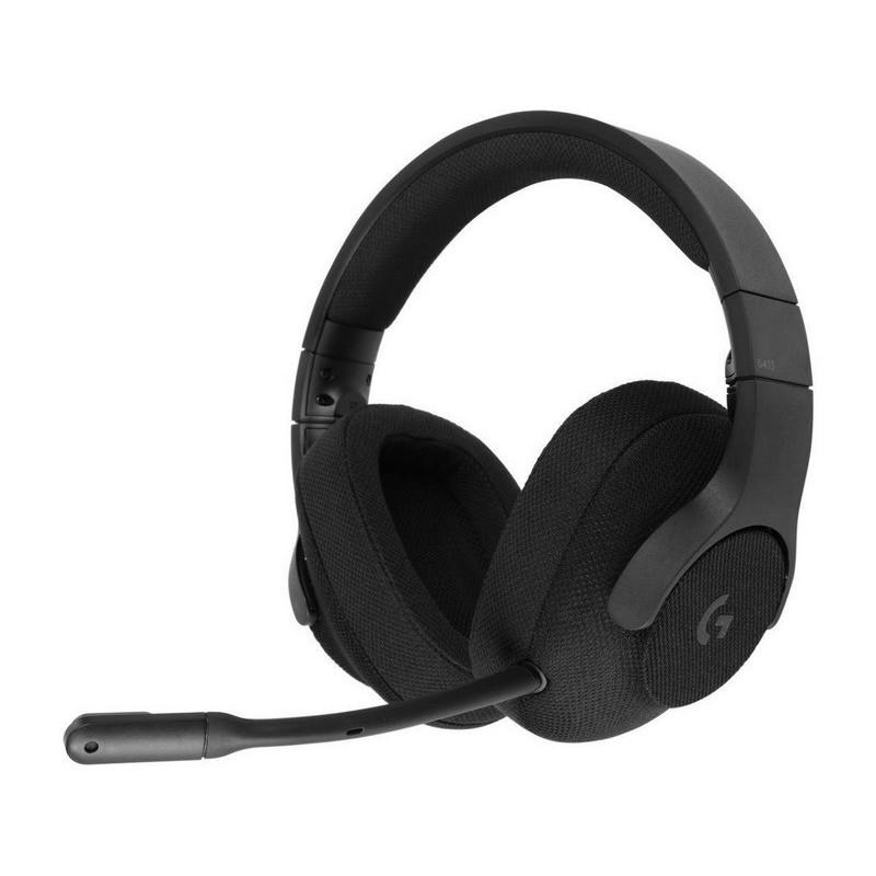 DIADEMA G433 Logitech Gaming Alámbrico Plug3.5mm/USB Multiplataforma Sonido 7.1 DTS HEADPHONE:X Micrófono Extraíble Cable 1.5Met
