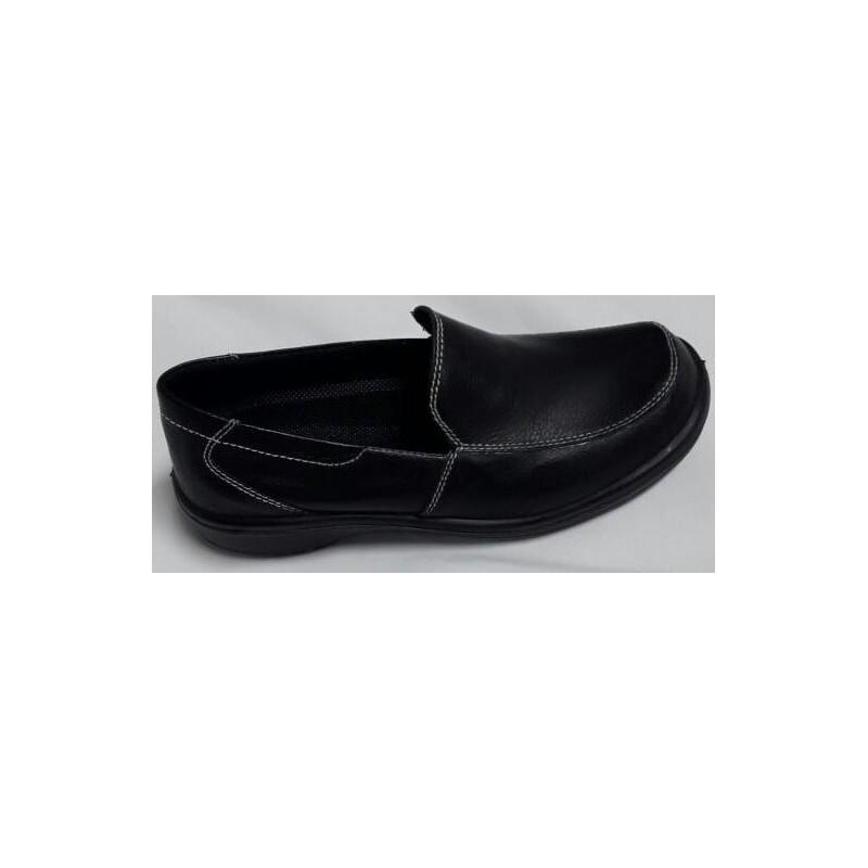 Zapato Mocasin Dama Celeste