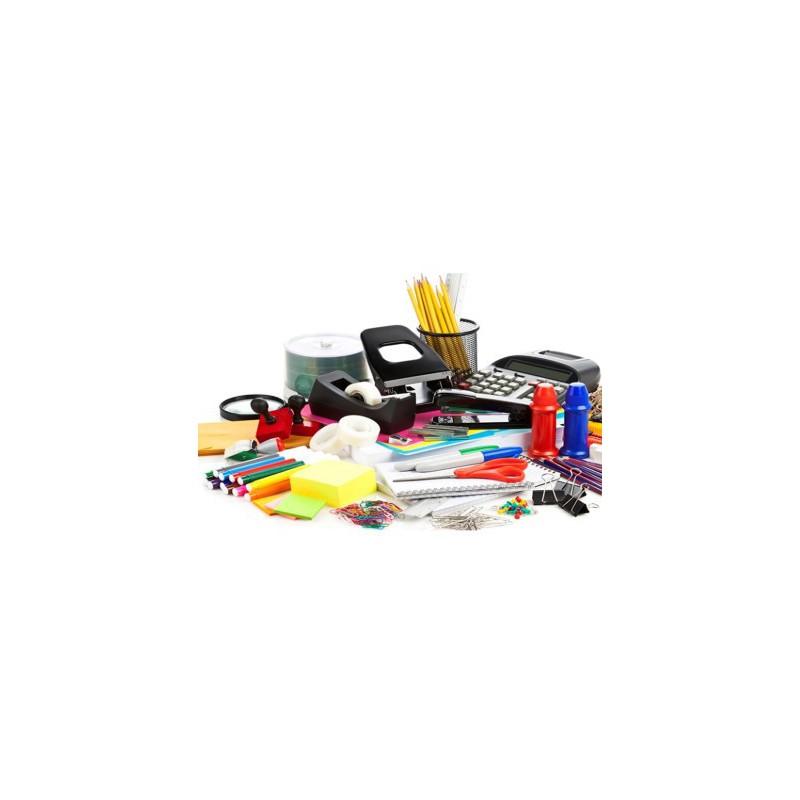 Combo de Productos de Papelería, Suministros e Insumos para Oficina