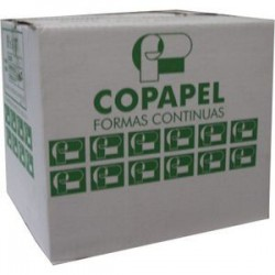 Forma continua universal 9 1/2 X 13 3 parte Blanca Copapel 60 gr