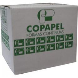 Forma continua universal 9 1/2 x 11 3 parte Rayada Copapel