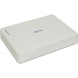 DVR (Grabador de video digital) HiLook / Color: Negro / Canales entrada de video analogos: 16 / Canales entrada de video IP: 2.