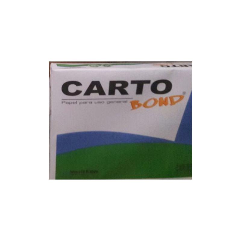 Caja Resmas 60 gr tamaño Oficio X 10 unidades Cartoprint