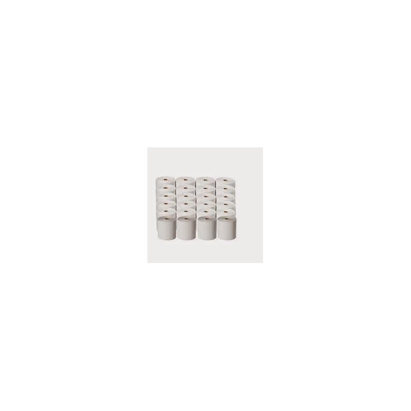 Rollo para Registradora en Papel Bond 150 Ma x 44,5 ancho x 50 Mts (Caja X 120). Core 12.5